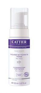 4.Cattier Mousse Nettoyante Nuage Céleste