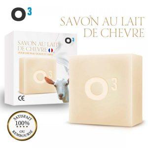 6. O³ Savon artisanal au Lait de Chèvre