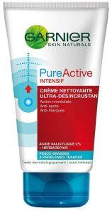 10. Garnier Pure Active Intensif Crème Nettoyante