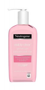 8. Neutrogena Visibly Clear Gel Nettoyant Pamplemousse Rose200 ml