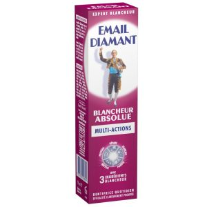 3. Email Diamant - Dentifrice Blancheur Absolue - 75 ml - Lot de 2