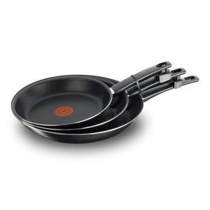 Evaluez le diamètre d'une poêle selon les volumes cuisinés.