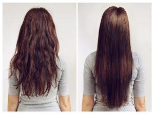 Une base lissante pour des cheveux normaux à sec
