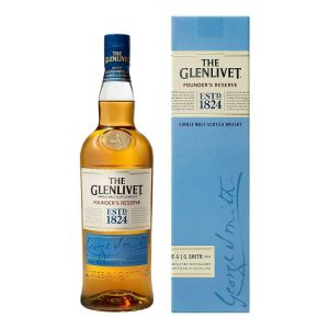 5. The Glenlivet Founder's Reserve 7 ans 40% 70 cl