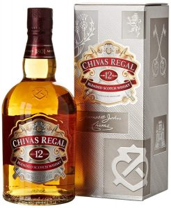 9.Chivas Regal Scotch Whisky 12 ans 40% 70 cl