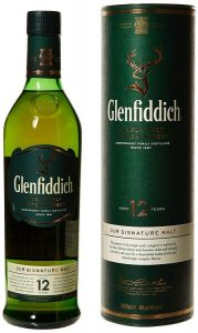 7. Glenfiddich Signature 12 ans 40% 70 cl