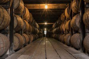 Un fût de conservation révèle les arômes d'un whisky